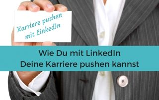 #Karriere mit #LinkedIn pushen