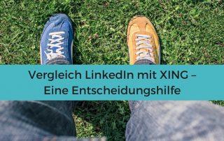 Vergleich #Xing und #Linkedin