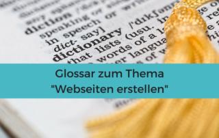 Vokabular zum Thema #Webseite erstellen