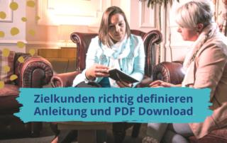 Zielkunden definieren: Anleitung und PDF zum Ausfüllen
