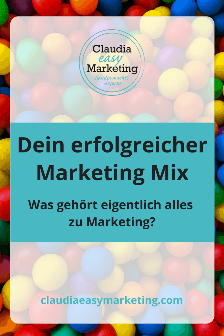 Dein erfolgreicher Marketing Mix