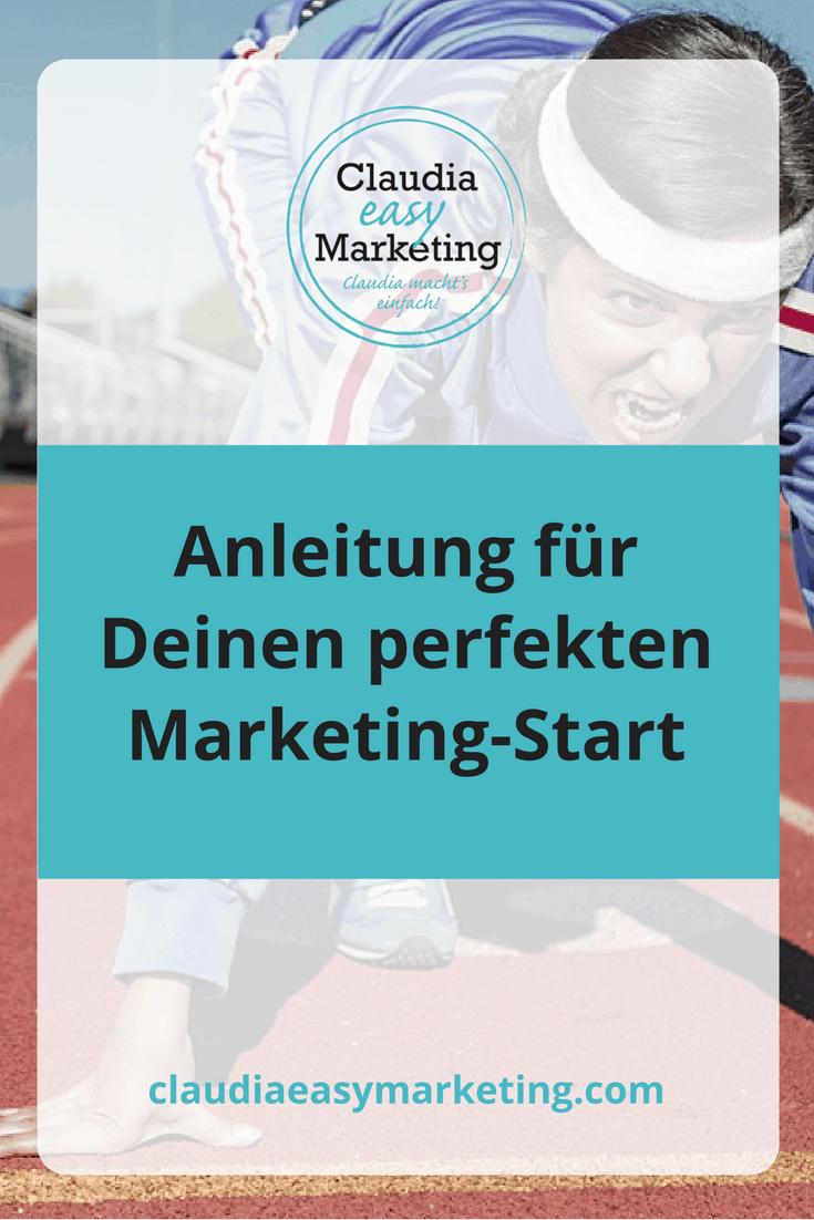 Anleitung für Deinen perfekten Marketing-Start
