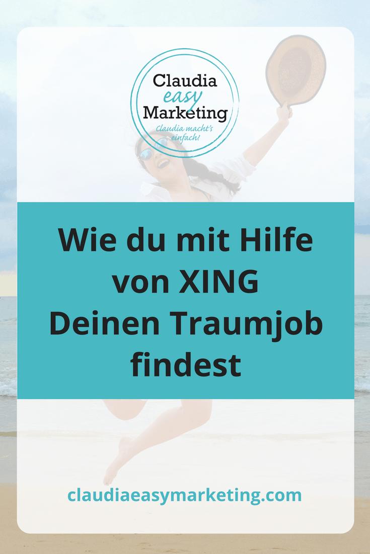 Optimiere Dein Xing Profil, damit Du Deinen Traumjob findest!