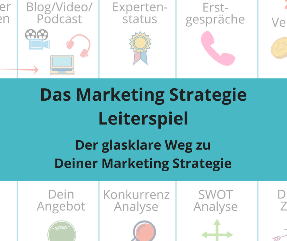 Marketing Strategie Leiterspiel Freebie