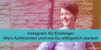 #Instagram #Anleitung für Anfänger