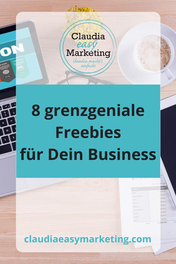 8 geniale Freebies für Deinen Business-Erfolg