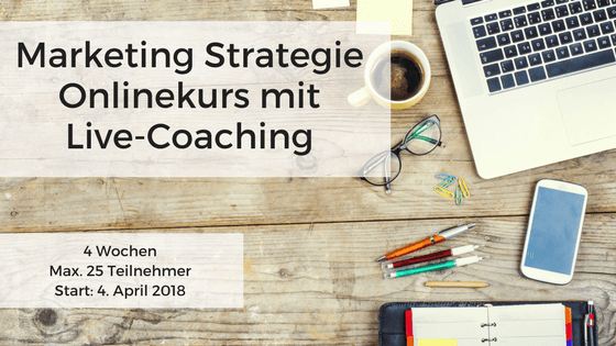 Marketing Strategie Onlinekurs