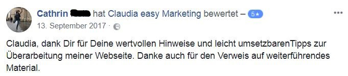 Marketing Strategie Newsletter Referenz