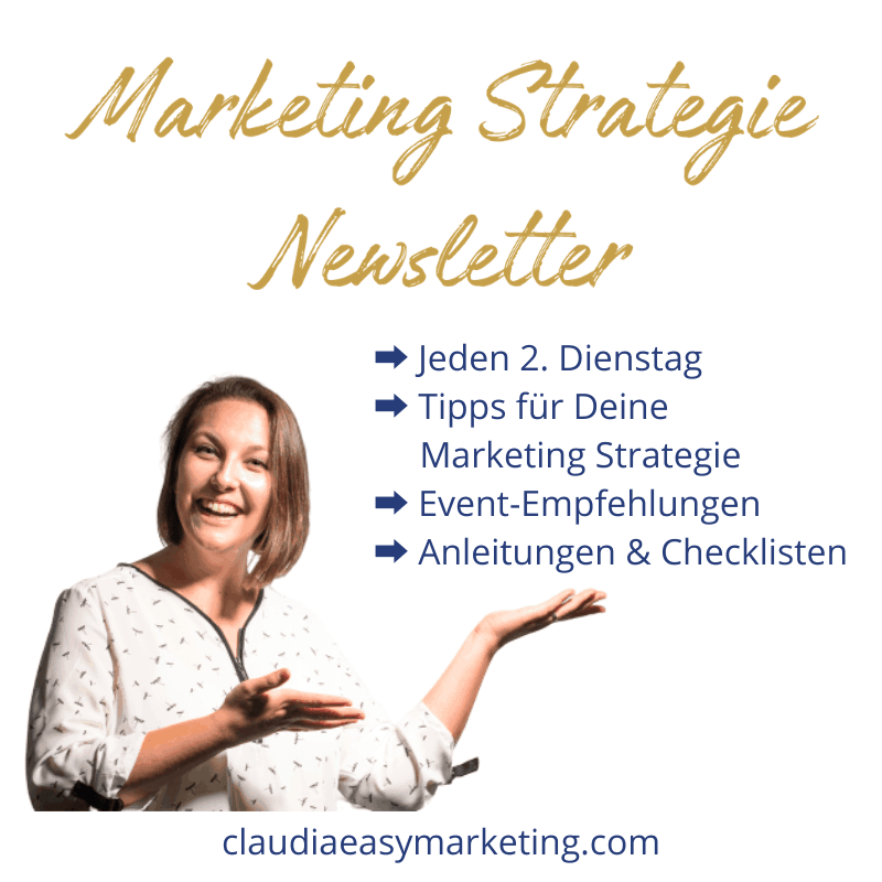 Marketing Strategie Newlsetter