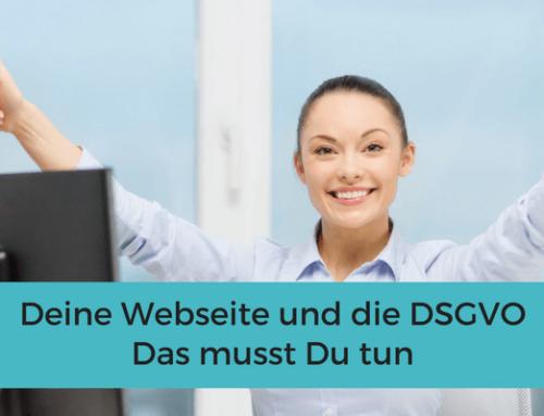 Deine Webseite und die DSGVO