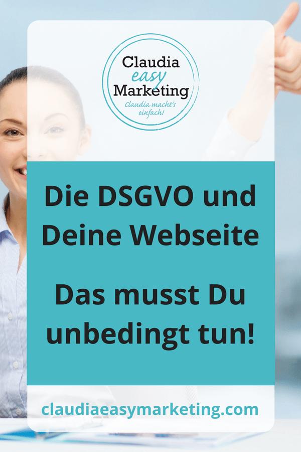 Wordpress Webseite DSGVO Änderungen