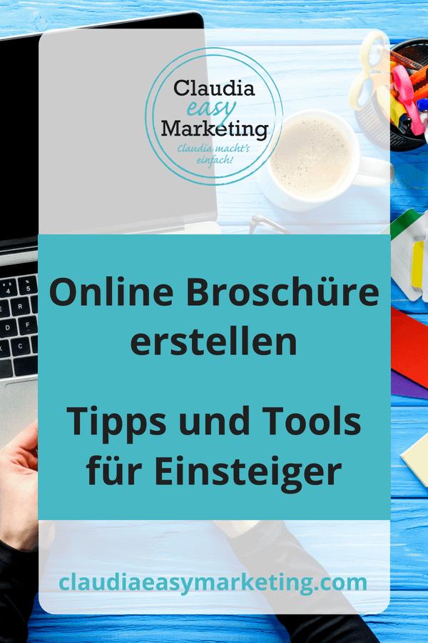 Online Broschüre erstellen - Tipps und Tools
