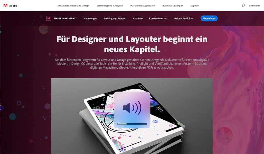 Online Broschüre erstellen mit InDesign