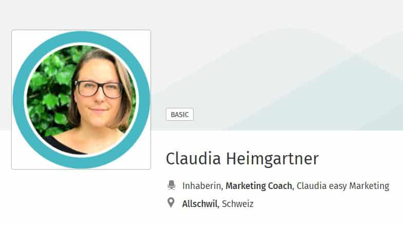 Xing Anleitung Fur Einsteiger Claudia Easy Marketing