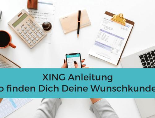XING Anleitung für Einsteiger