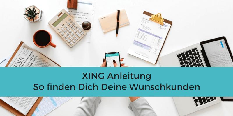 XING Anleitung für Einsteiger Beitragsbild