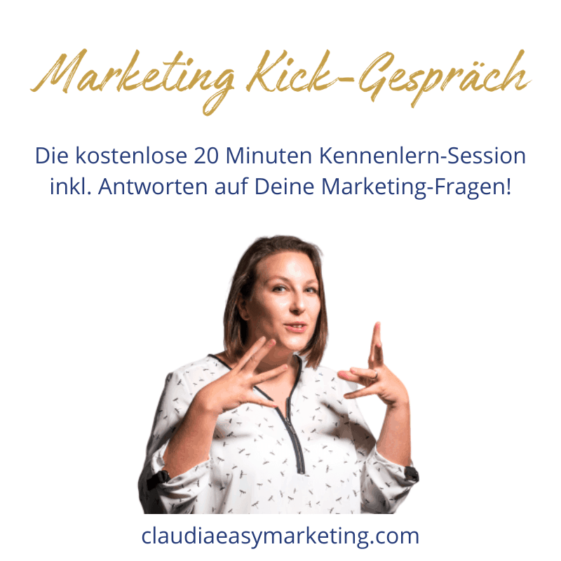 Marketing Kick Gespräch - Gratis-Session