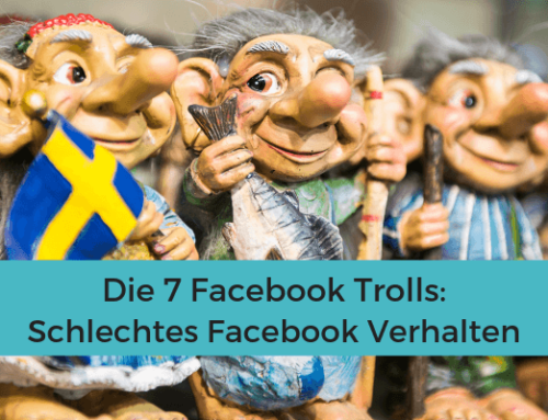Die 7 Facebook Trolle