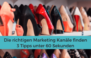 Marketing Kanäle Tipps