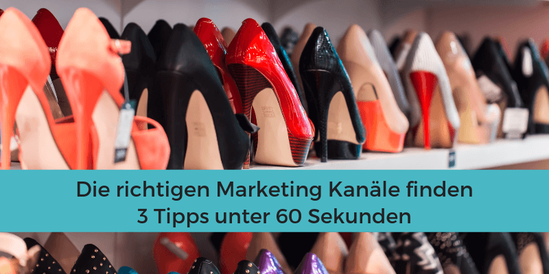 Marketing Kanäle Tipps
