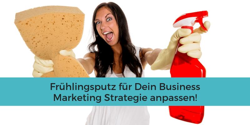 Marketing Strategie anpassen