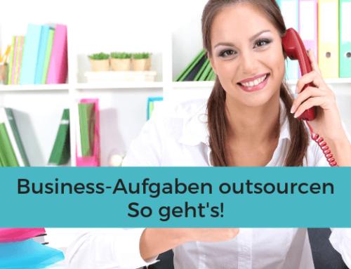 Business-Aufgaben outsourcen
