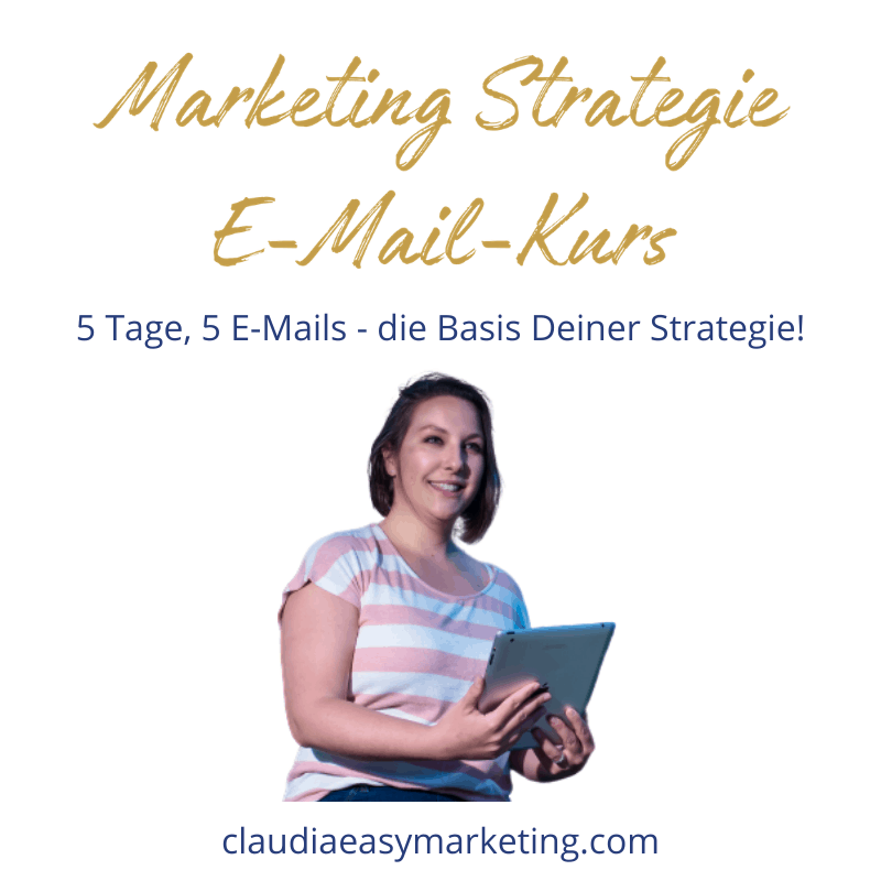 Marketing Strategie E-Mail Kurs