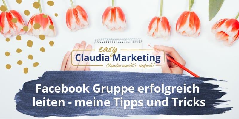 Facebook Gruppe leiten Tipps