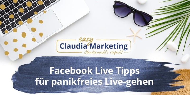 Facebook Live Tipps für Videos
