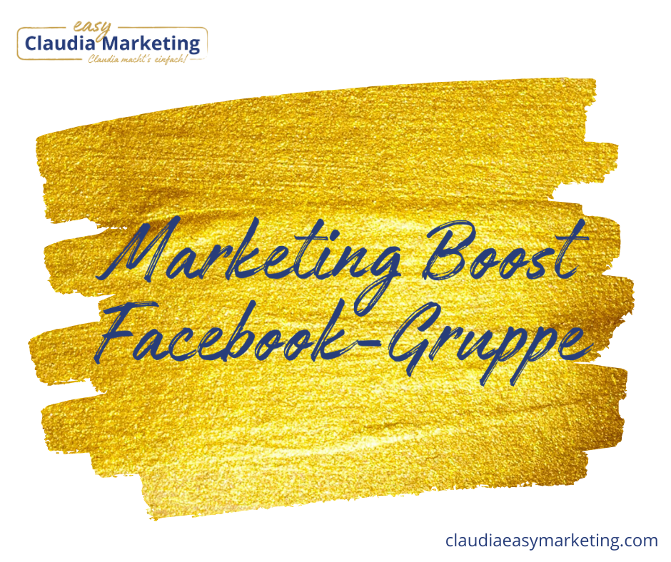 Marketing Boost Facebook Gruppe