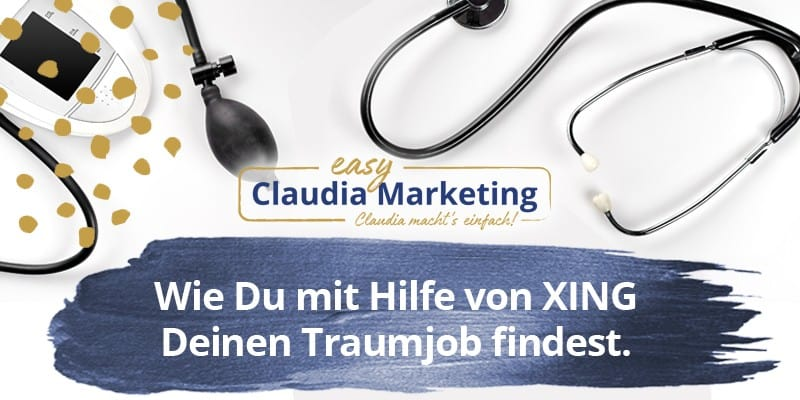 Traumjob finden mit XING