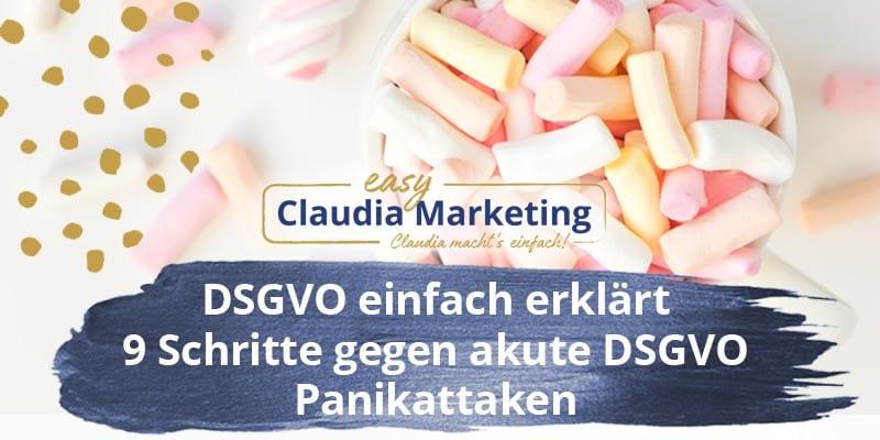 DSGVO einfach erklärt