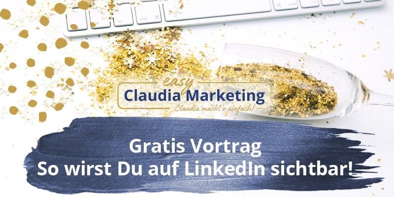 Video-Vortrag: Auf Linkedin sichtbar werden