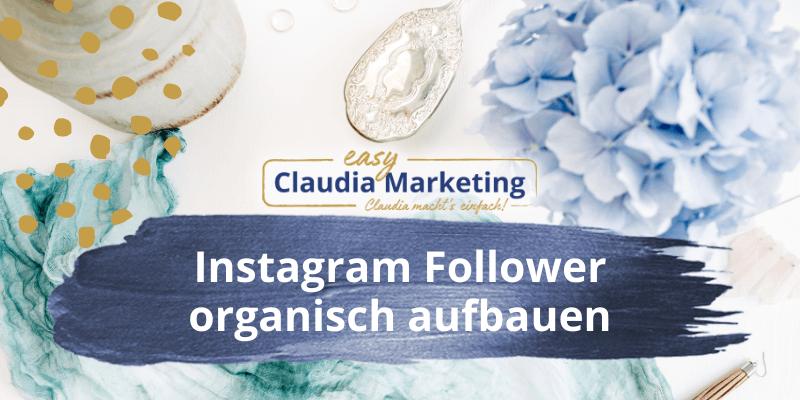Instagram Follower aufbauen organisch