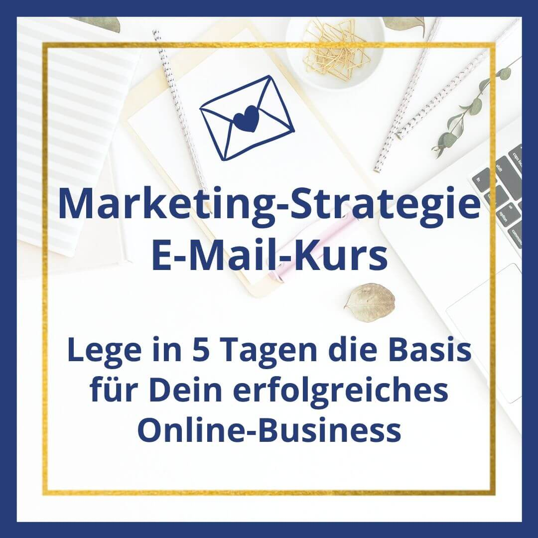 Marketing Strategie E-Mail-Kurs kostenlos