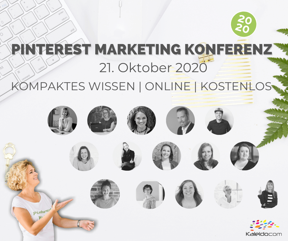 Pinterest Marketing Konferenz alle Speaker