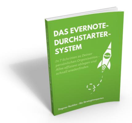 Evernote Durchstarter-System