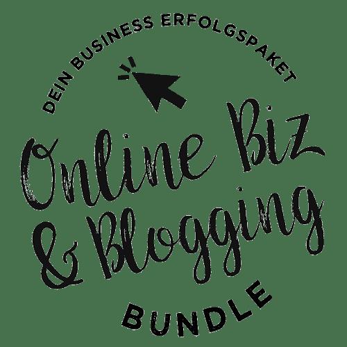 Online Biz und Blogging Bundle Logo